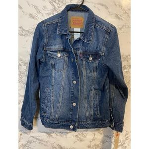 Levi's Girls Denim Jacket New With Tags Large